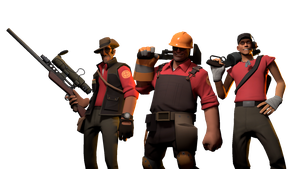 [SFM] Sniper, Engineer and Scout by Sharpe-Fan