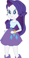 Rarity Not In A Good Mood by illumnious
