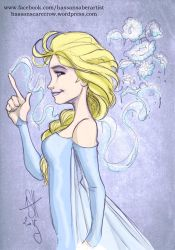 Elsa by scarecrowhassan