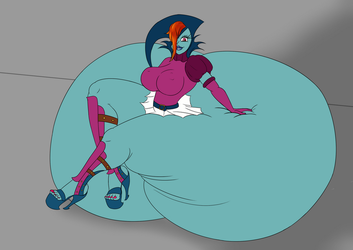 Veran's Bed Booty by angelDX