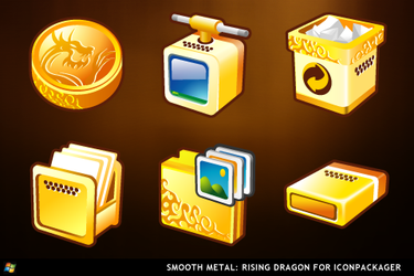 Smooth Metal: Dragon Rising by ipholio