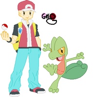 (REQUEST!) Base 23 - Trainer and Treecko