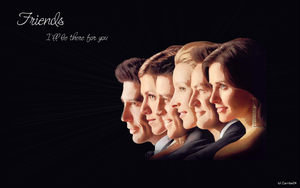 Friends Wallpaper by Carribe24