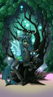 My little pony tarot card 3. The emperess by kairean