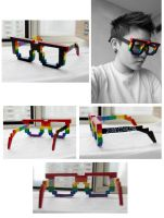 Pixel Glasses SUCCEED by CYcat