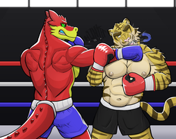 Dragos big knockout by GenshiTatsunora