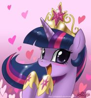 Pretty Pretty Princess Twilight by johnjoseco