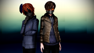 ~Ticci-Toby and Eyeless Jack~ Model DLs by Jasper-SeahorseKing