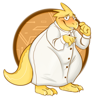 Alphys by Cyboarnetic