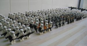 Lego Galactic Empire III by franklando