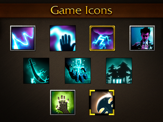 Game Icons by bogo-d
