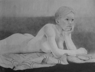 Figure Study (8) -college by TwistedGarden