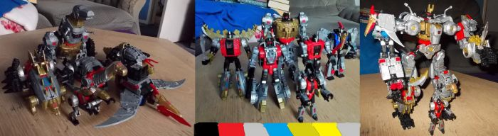 Power Of The Primes Dinobots by ReinaHW