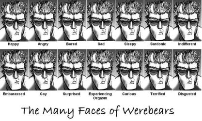 The Many Faces of Werebears by Heliotroph