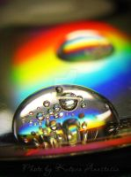 Rainbow macro world by french-mermaid