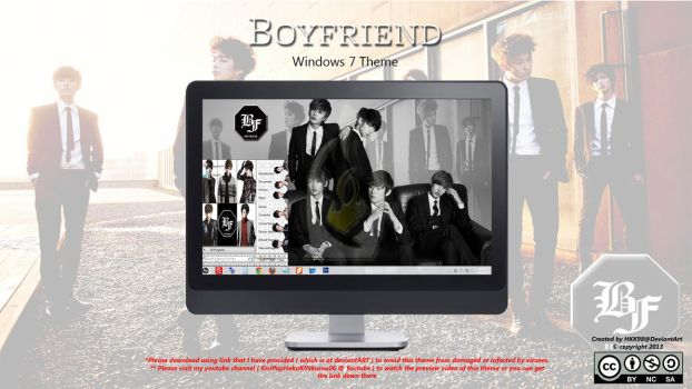 [2013 Theme] Boyfriend [Kpop] Win 7 by HKK98
