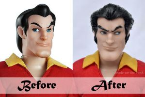 Les Bimbettes: Gaston | Before - After by claude-on-the-road