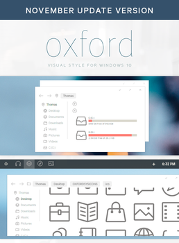 Oxford - Windows 10 November Update by participant