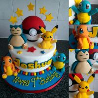 Pokemon Cake! by clvmoore