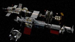 Docking for maintenance and inspection by Do-Mo