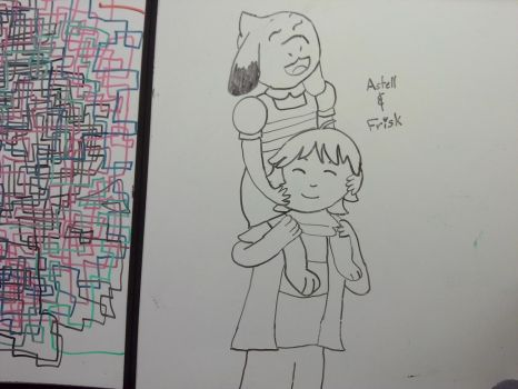 Astell and Frisk by okapi77