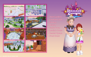 Radiant Garden [DOWNLOAD] by redRevolutionnaire