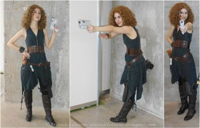 River Song Day of the Moon cosplay by ArwendeLuhtiene