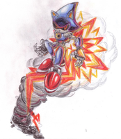 Flying Metal Sonic by SRB2-Blade
