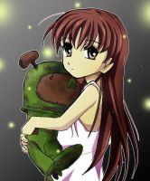 Clannad:Ushio and Robot by teanachan