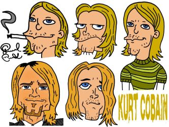 Happy Birthday Kurt Cobain by biel12