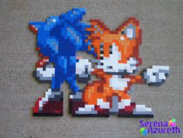 Sonic and Tails: Continue? by SerenaAzureth