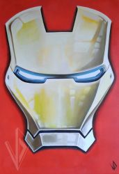 Peinture : IRON MAN 2 By VukoDlak ! by VuKoDlak-VD