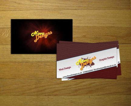 Business Card by Nova-Designs