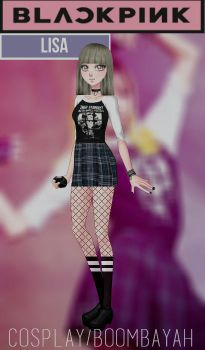 CDM Pack -Cosplay de Lalisa/BLACKPINK by Yujanitzy