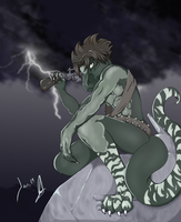 Request... Reptile in war by susukiba