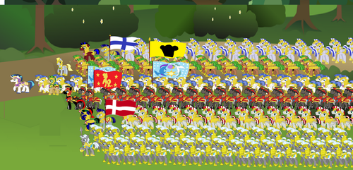Shining Armour's Army by Vector-Brony