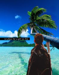 This is no place for a girl on fire by LittleMokingjay