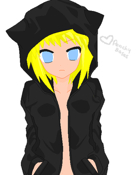 Kitty Hoodie Base by PeachyBases
