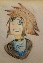 KH 1 Sora by Faindessiness