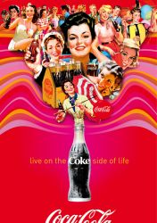Hot Red Summer, Ice Cold Coke by Coca-Cola-ArtGallery