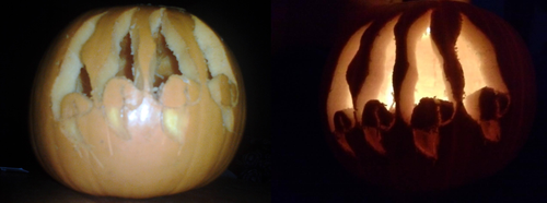 My claw carving by FireNekoGin