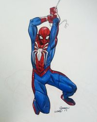 Spider-Man PS4 by lukesparrow