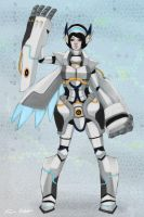 Robot Valkyrie by Sessie