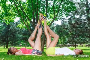 Legs for Days times 2 with Liza and Heather - LE by LegsEmporium