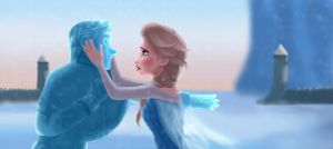 Frozen Heart by RoZaLINdrawer