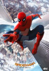 Spider-Man Homecoming Poster (Update) by GOXIII