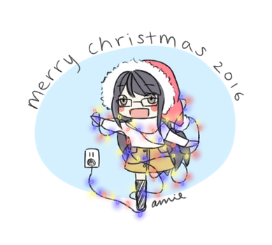 Merry Christmas 2016! by cutie-karin