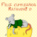 Feliz cumple Rata :D by kuki4982