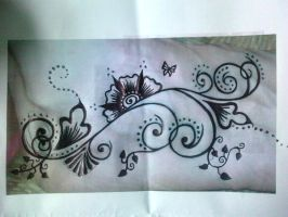 Tattoo design for my sister by Perey