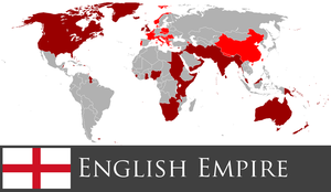 Greater English Empire by PrussianInk